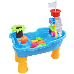 wasserspieltisch wasserspielzeug für draußen